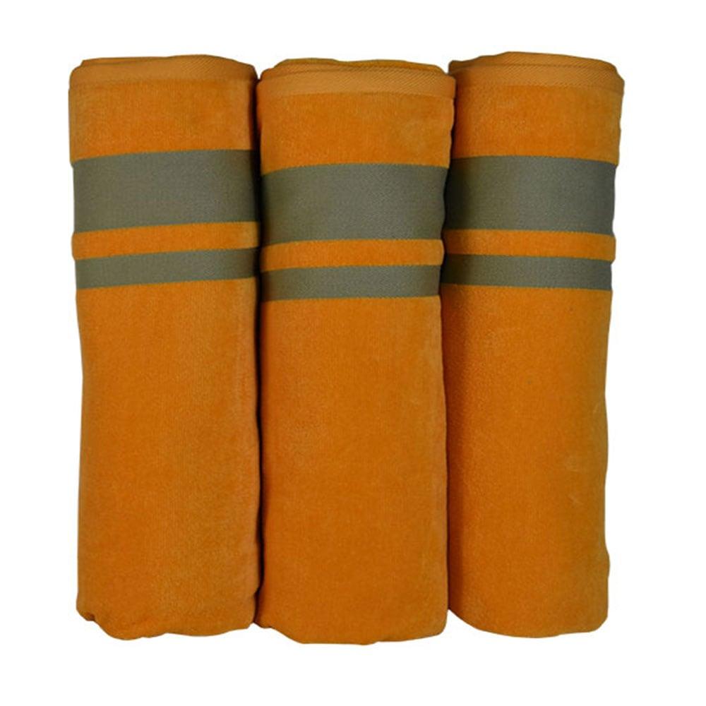 Πετσέτα Θαλάσσης Neon-6 Orange Homeline Θαλάσσης 86x162cm