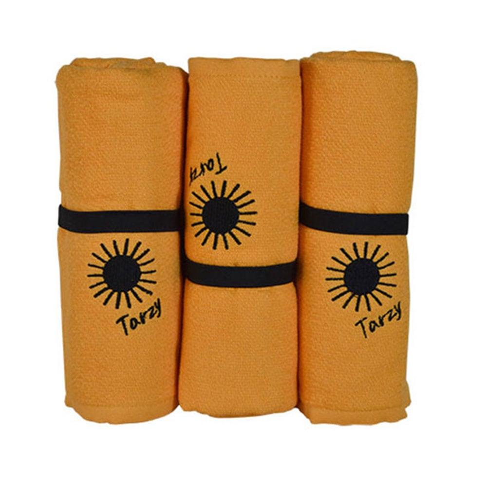 Πετσέτα Θαλάσσης Tarzy Orange Homeline Θαλάσσης 70x150cm