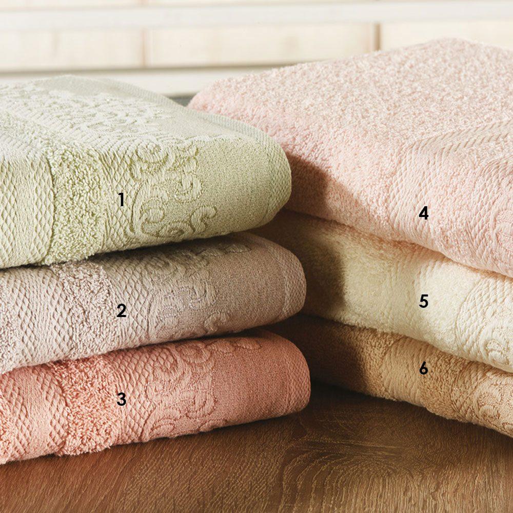 Πετσέτες Σετ 3τμχ P001 No.2 Lila Whitegg Σετ Πετσέτες 70x140cm