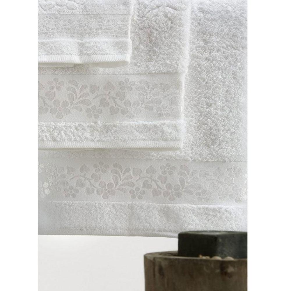 Πετσέτες Σετ 3τμχ SP10 1 White Whitegg Σετ Πετσέτες 70x140cm