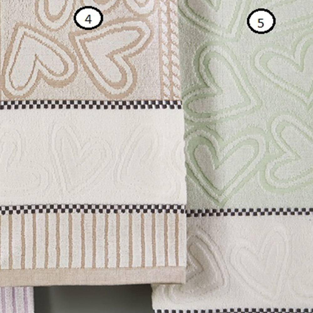 Πετσέτα P005 No.5 Green Whitegg Προσώπου 50x90cm