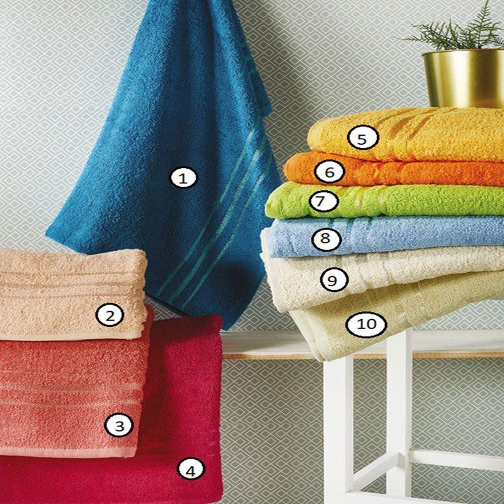 Πετσέτα T11 No.6 Orange Whitegg Σώματος 90x150cm