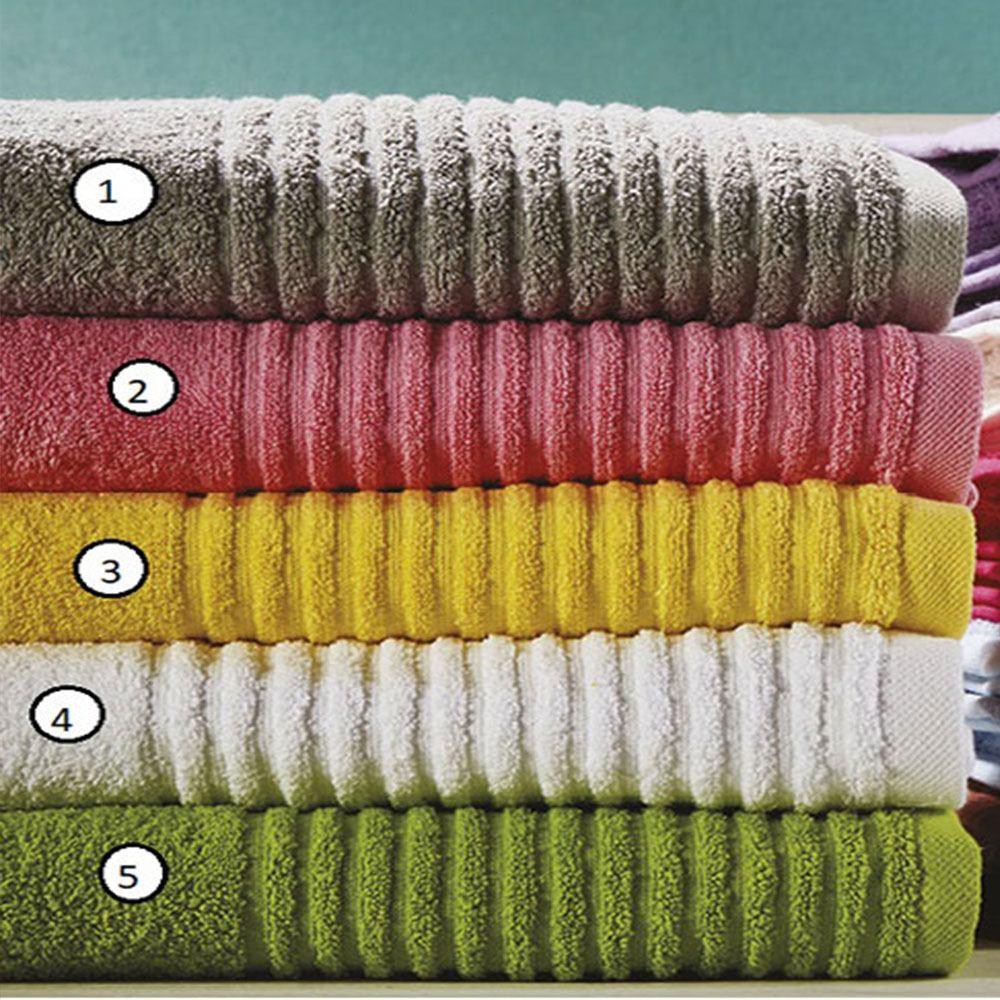 Πετσέτα Ρόζα T16 Νo.03 Yellow Whitegg Σώματος 90x150cm