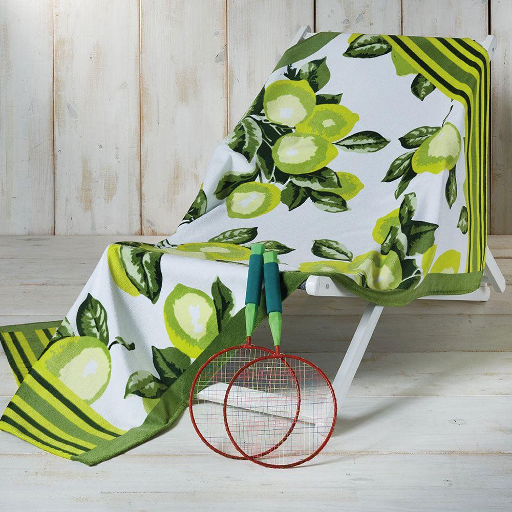 Πετσέτα Θαλάσσης ΤΗ13 Green Whitegg Θαλάσσης 90x160cm