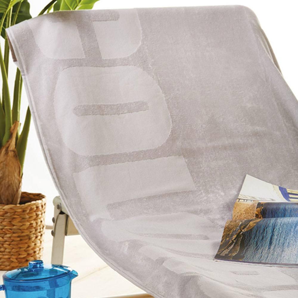 Πετσέτα Θαλάσσης S020 No.1 Beige Whitegg Θαλάσσης 90x170cm