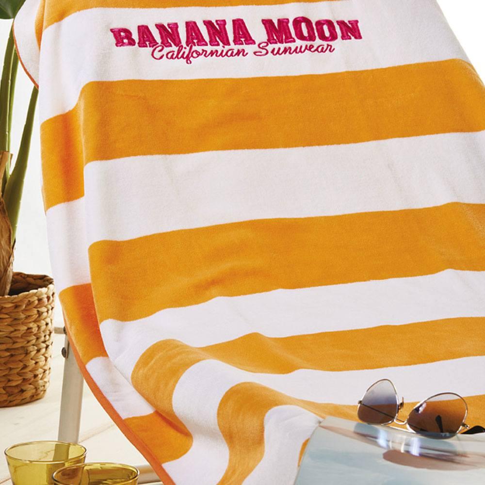 Πετσέτα Θαλάσσης S022 White-Orange Whitegg Θαλάσσης 90x170cm