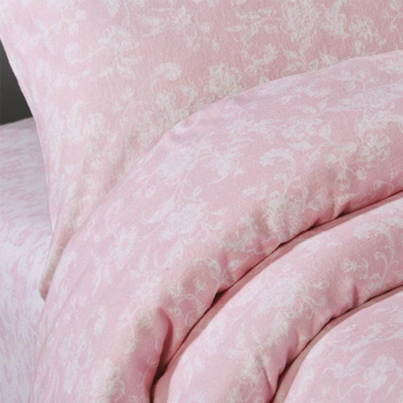 Σεντόνι Σετ 4Τμχ WE_Fan20_ΣΣΥΔ_No.2 Pink-White White Egg Υπέρδιπλo 240x260cm