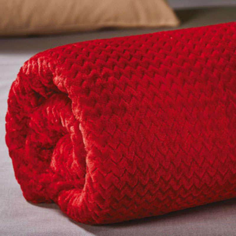 Κουβέρτα WE_Kb33_ΚΒΥΔ_7 Pop Corn Red White Egg Υπέρδιπλo 220x240cm