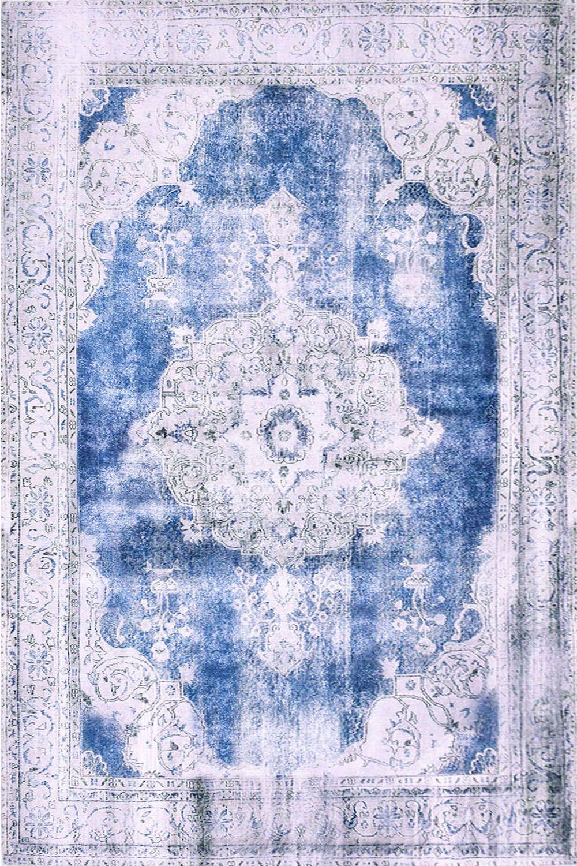 Χαλί Damask 72037-021 Blue-Beige 140X200