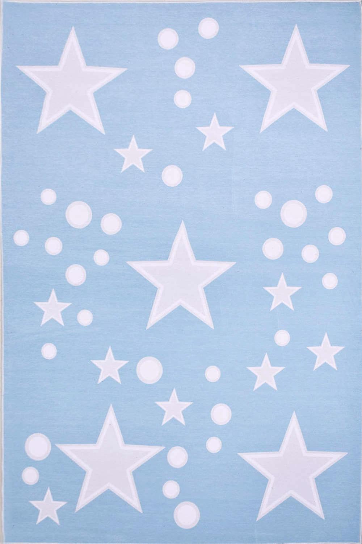 Χαλί Παιδικό Astra 73014-021 Blue-Grey 140X200