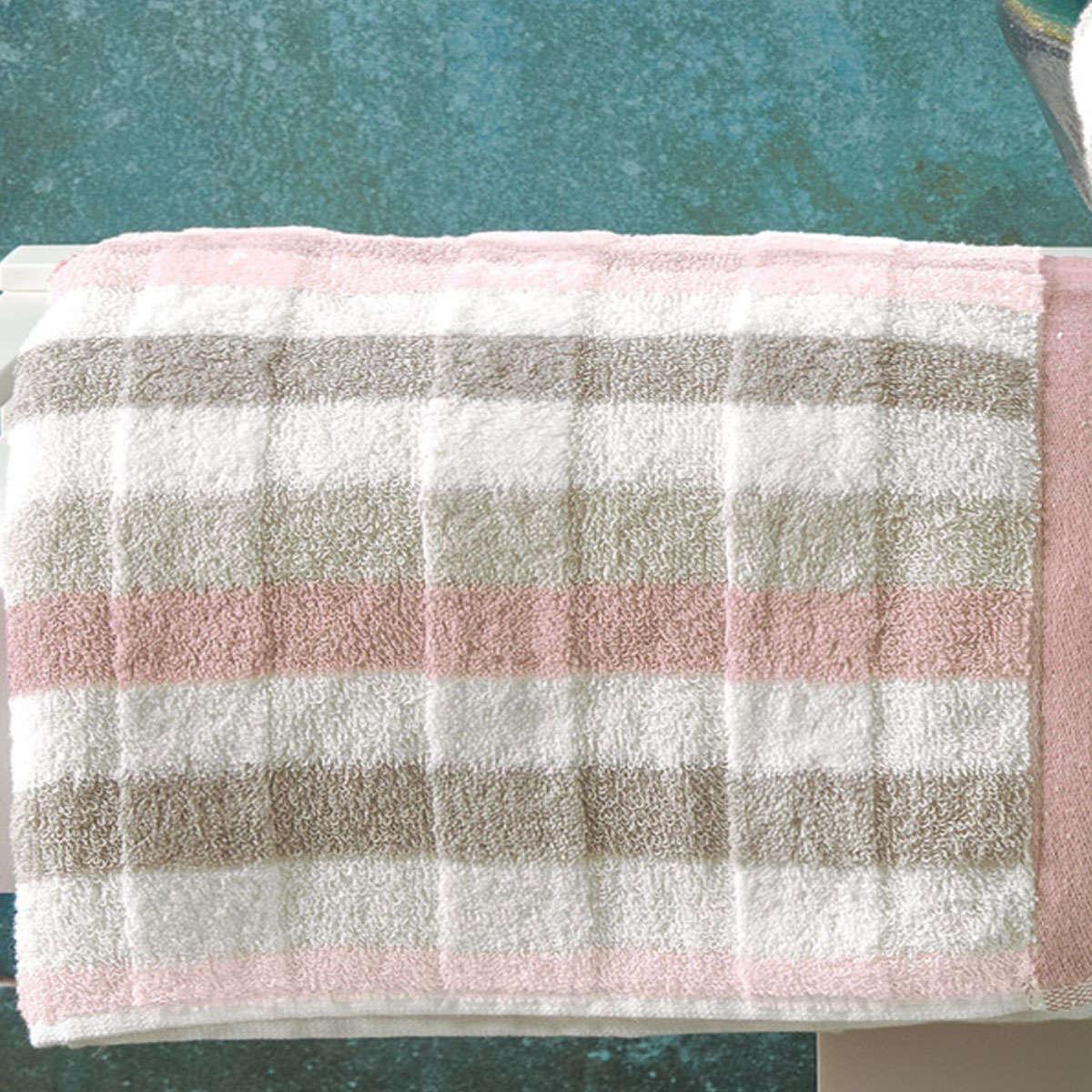 Πετσέτα Accordo B14 Pink Kentia Προσώπου 50x100cm