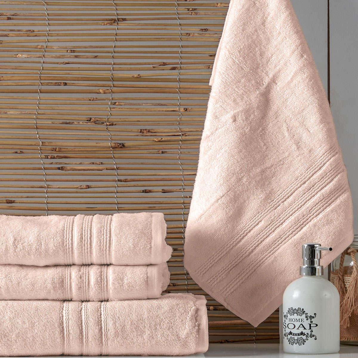 Πετσέτα Arial A18 Somon Kentia Σώματος 80x150cm