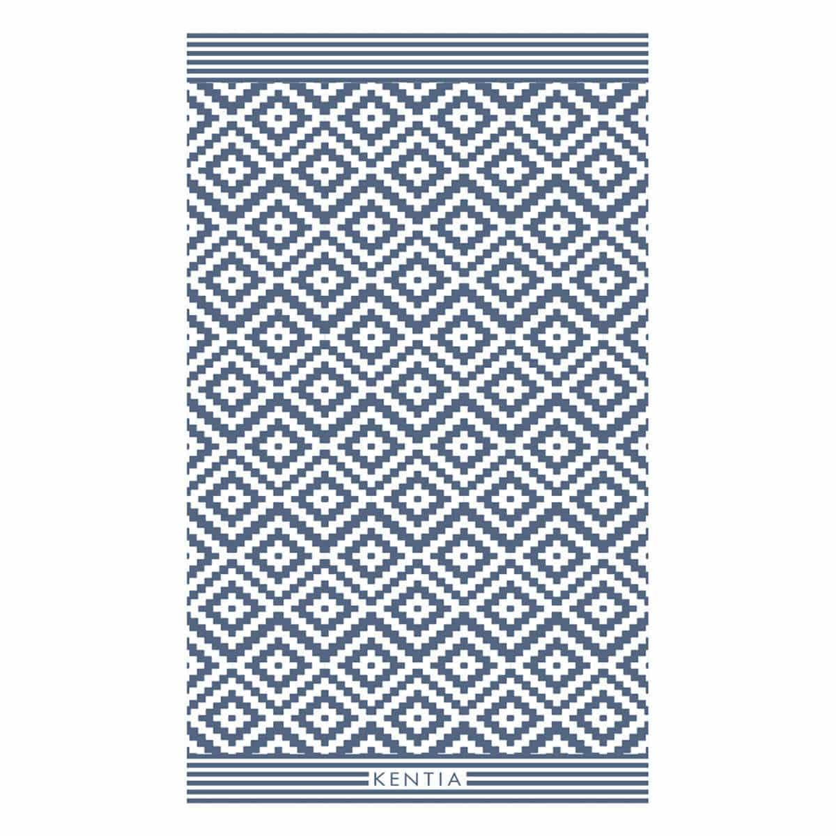 Πετσέτα Θαλάσσης Chios Blue Kentia Θαλάσσης 80x160cm
