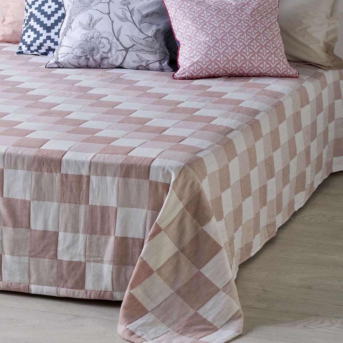 Κουβέρτα Ethel 18 Somon Ματλασέ Kentia Μονό 160x240cm