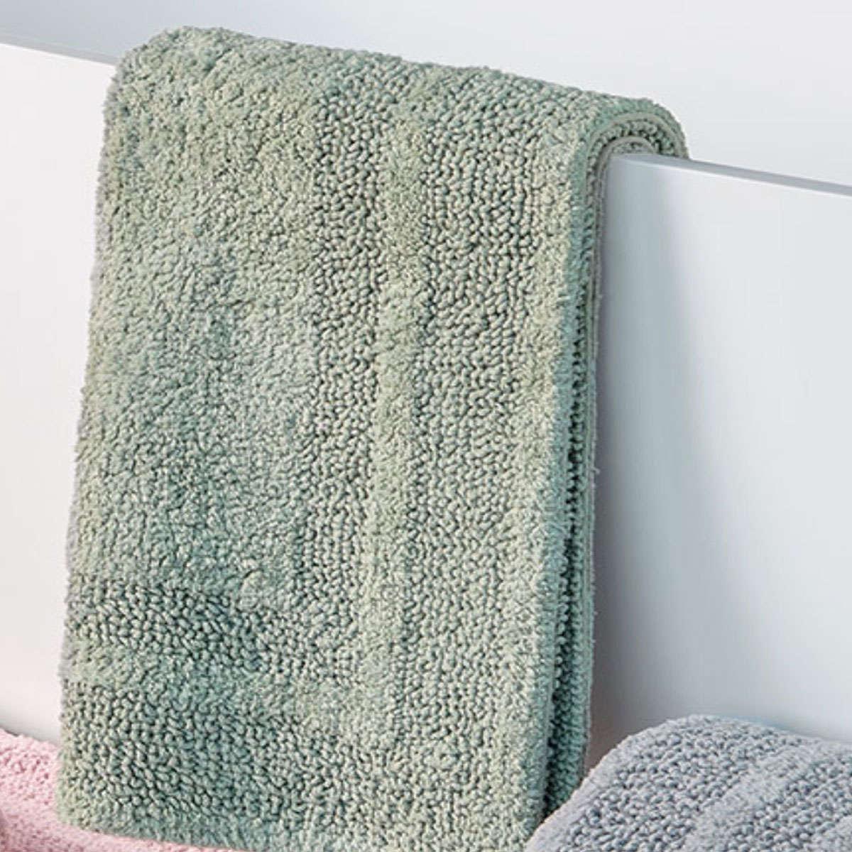 Πατάκι Μπάνιου Marty 10 Green Διπλής Όψης Kentia X-Large 70x110cm