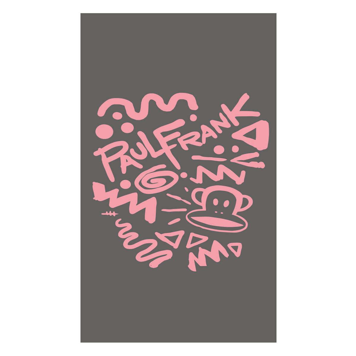 Πετσέτα Θαλάσσης Paul Frank 21 Brown-Pink Kentia Θαλάσσης 80x160cm