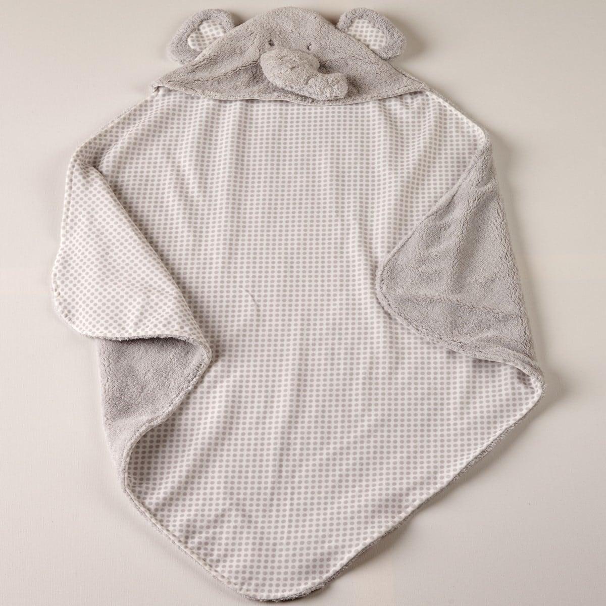 Βρεφική Κουβέρτα Rocco 22 Grey Kentia Αγκαλιάς 75x75cm
