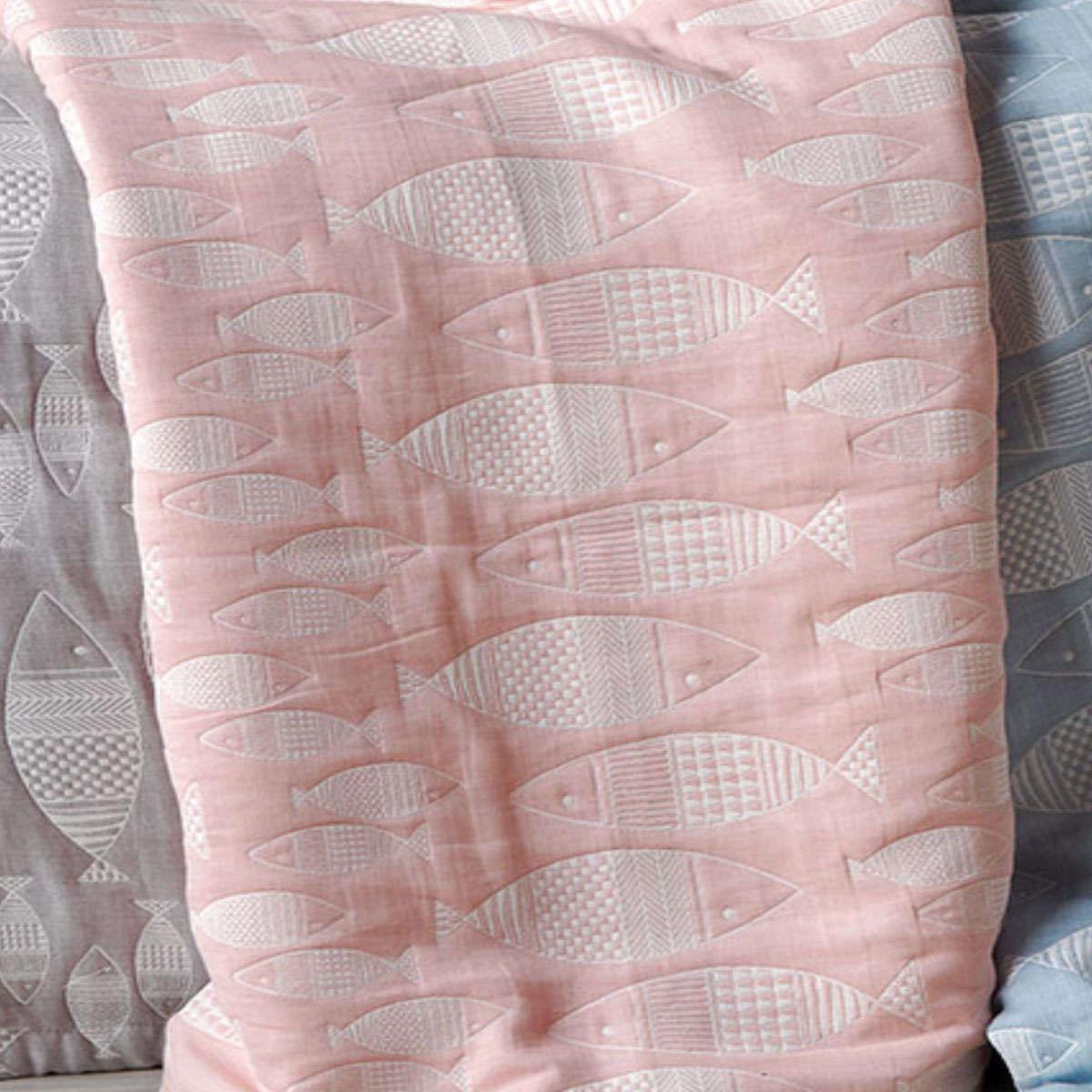 Παιδική Κουβέρτα Yin-Yang 14 Pink Ματλασέ Kentia Μονό 160x240cm