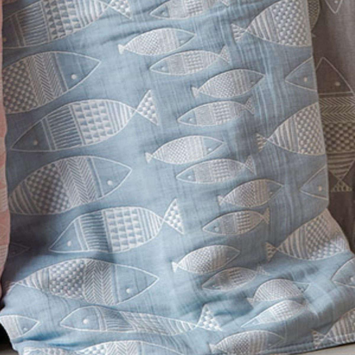 Παιδική Κουβέρτα Yin-Yang 19 Blue Ματλασέ Kentia Μονό 160x240cm