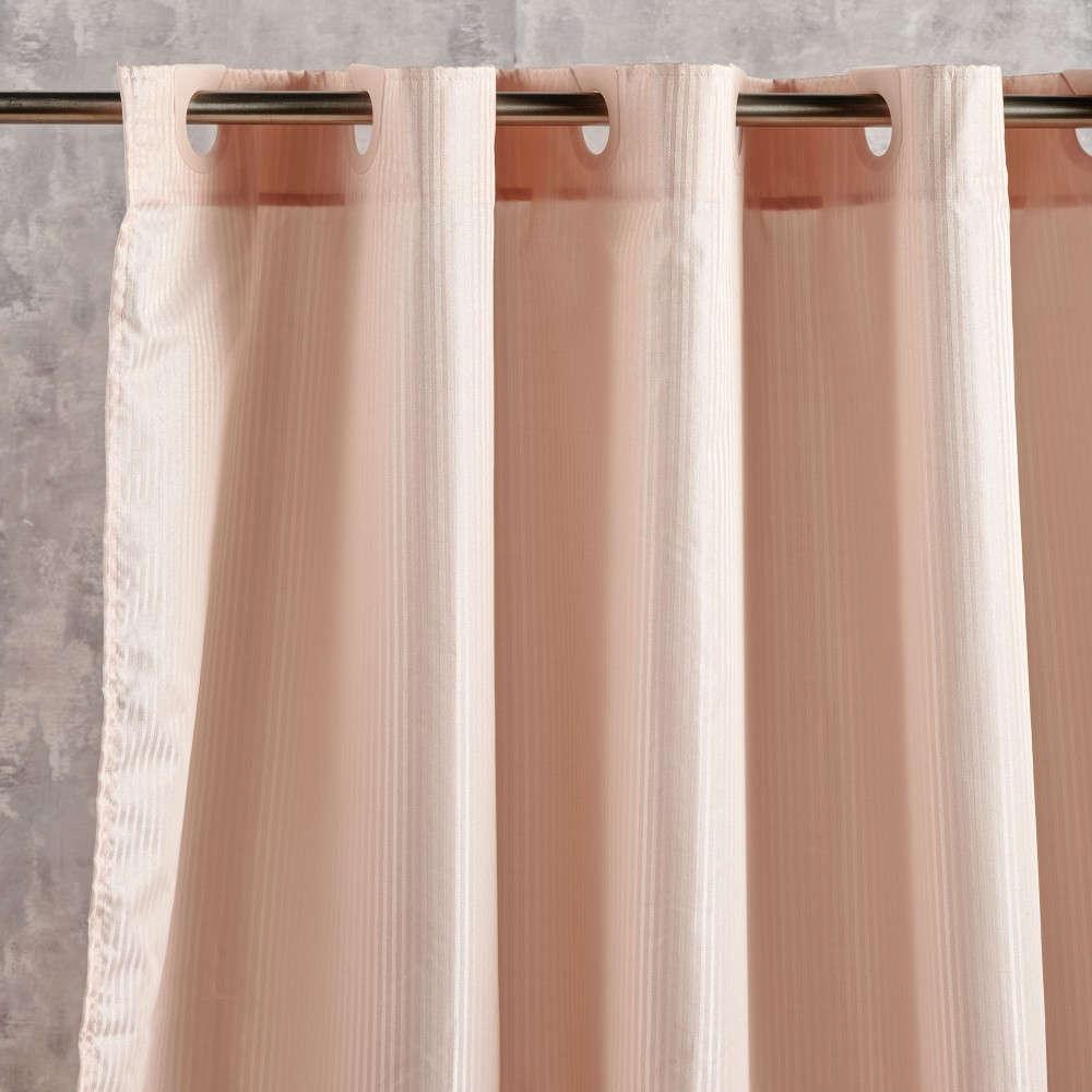 Κουρτίνα Μπάνιου Nippy 18 Coral Kentia Φάρδος 180cm 180x180cm