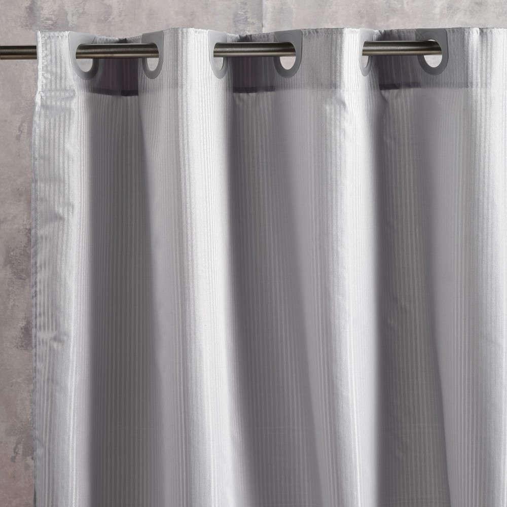 Κουρτίνα Μπάνιου Nippy 22 Anthracite Kentia Φάρδος 180cm 180x180cm