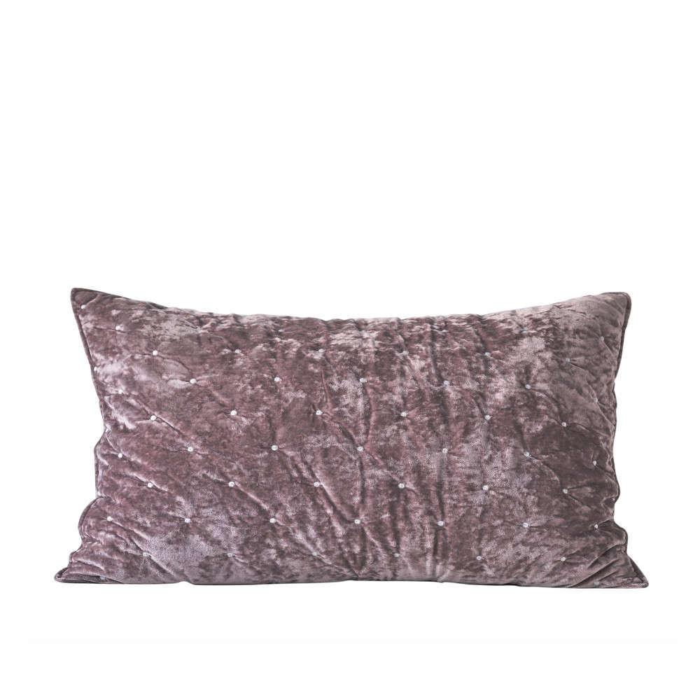 Μαξιλαροθήκη Διακοσμητική Silena 14 Dusty Pink Kentia 60X60 Βαμβάκι-Polyester