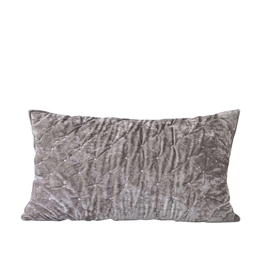 Μαξιλαροθήκη Διακοσμητική Silena 22 Grey Kentia 60X60 Βαμβάκι-Polyester