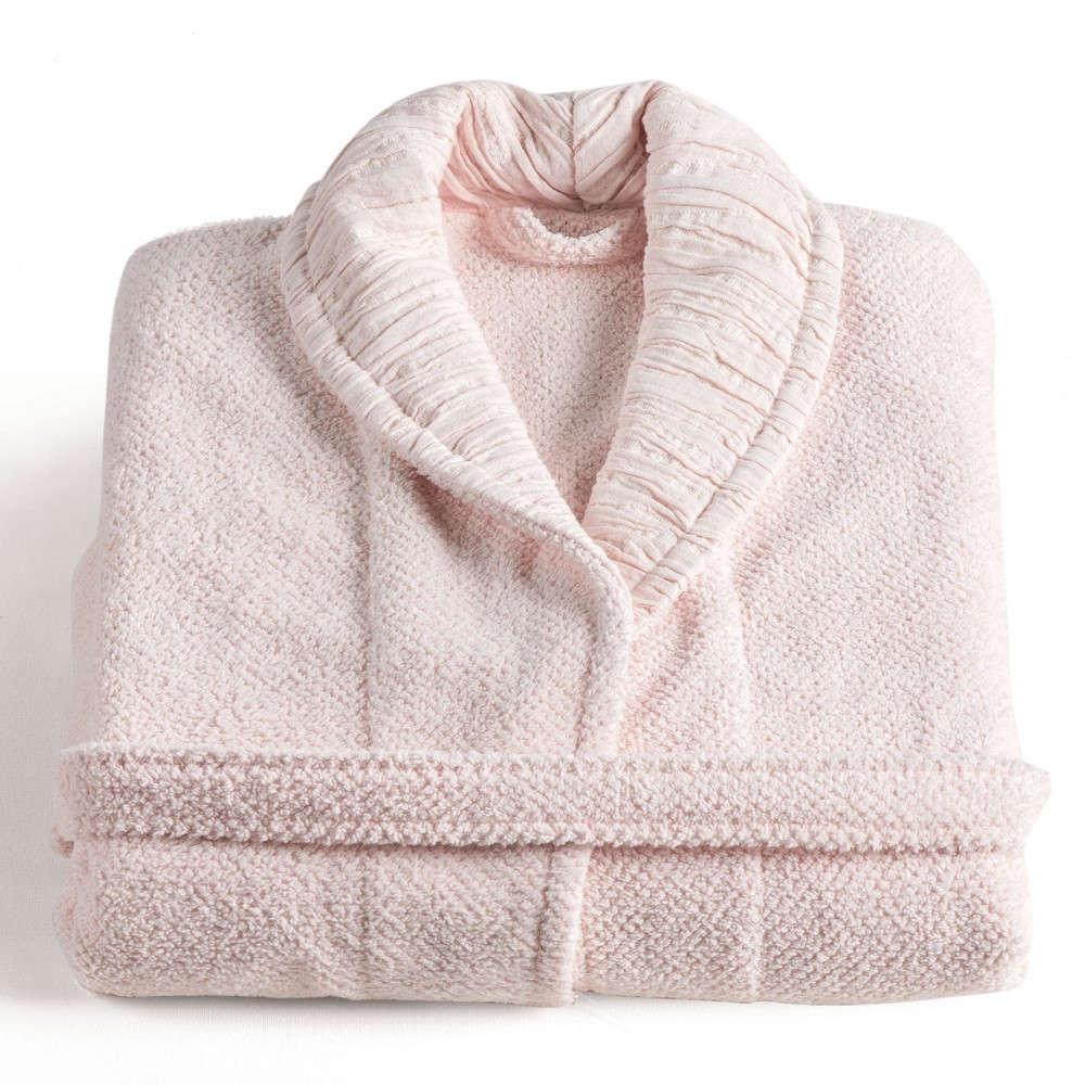 Μπουρνούζι Με Γιακά Monroe 14 Light Pink Kentia Medium M