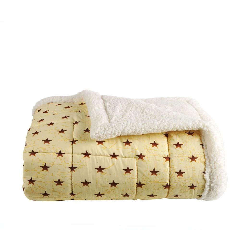 Πάπλωμα Με Γούνα Παιδικό Nanny 03 Honey Kentia Μονό 160x240cm