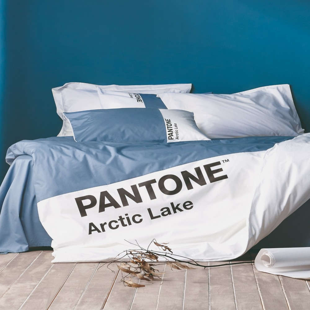 Παπλωματοθήκη Σετ 3Τμχ Pantone 07 Arctic Lake Kentia King Size 260x240cm