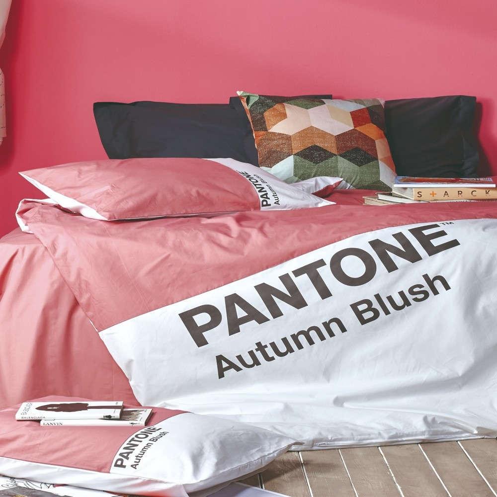 Παπλωματοθήκη Σετ 3Τμχ Pantone 08 Autumn Blush Kentia King Size 260x240cm