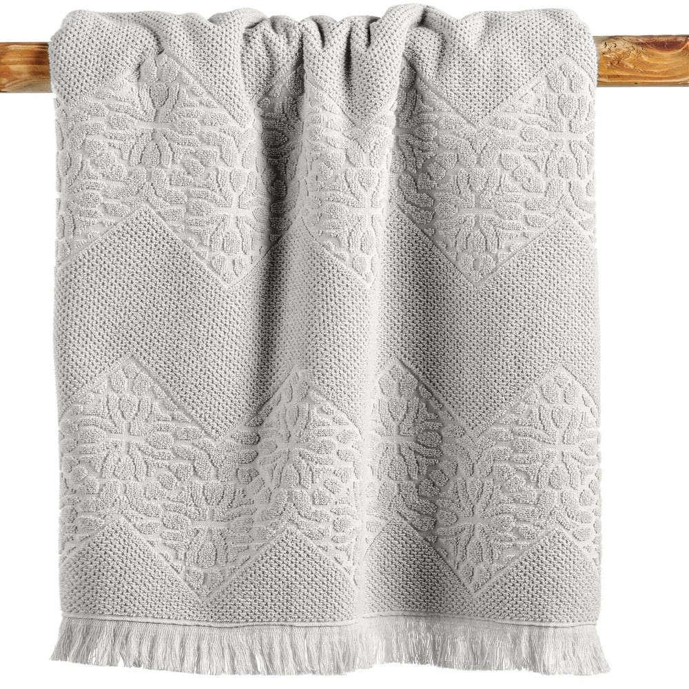 Πετσέτα Meredith 12 Ecru Kentia Προσώπου 50x90cm