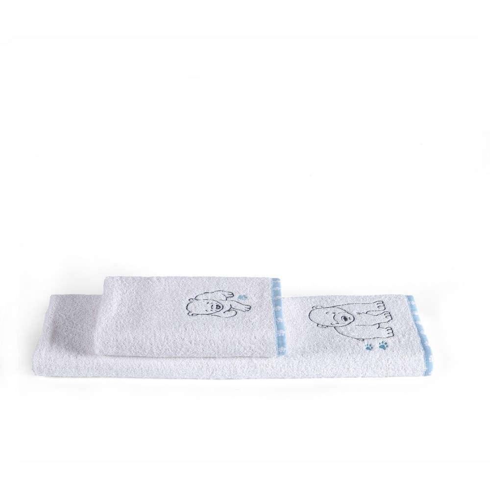Πετσέτες Βρεφικές Σετ 2τμχ Polar Kentia Σετ Πετσέτες