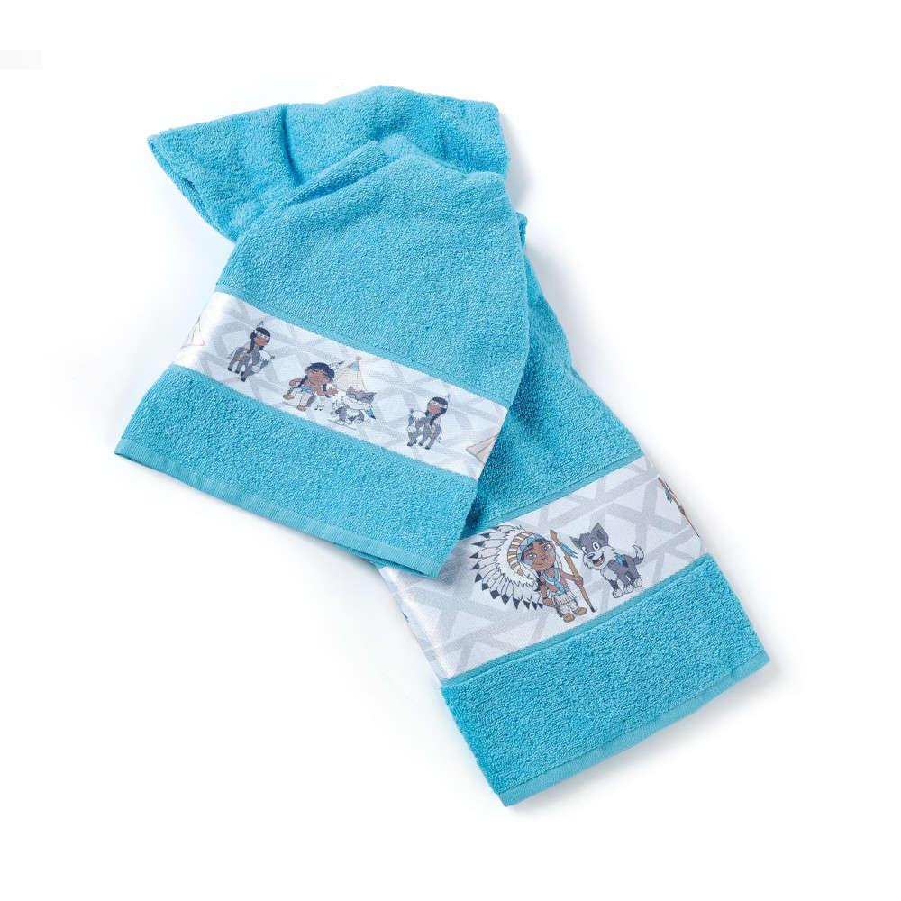 Πετσέτες Παιδικές Σετ Apatsi Blue Kentia Σετ Πετσέτες