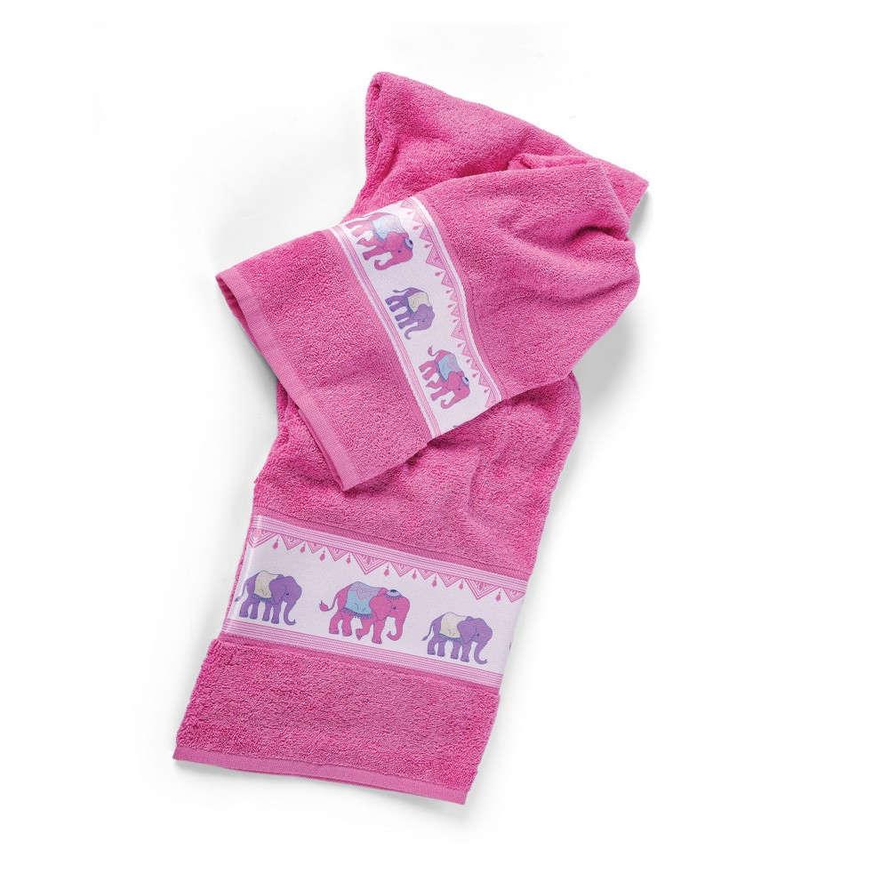 Πετσέτες Παιδικές Σετ Bollywood Fuchsia Kentia Σετ Πετσέτες