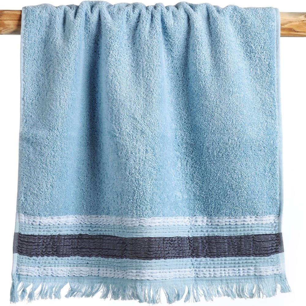 Πετσέτες Σετ Ava 19 Light Blue Kentia Σετ Πετσέτες