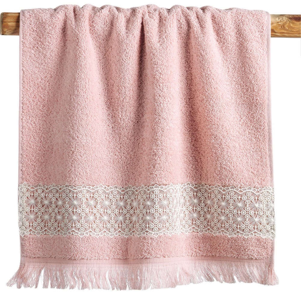 Πετσέτες Σετ Alora 14 Pink Kentia Σετ Πετσέτες