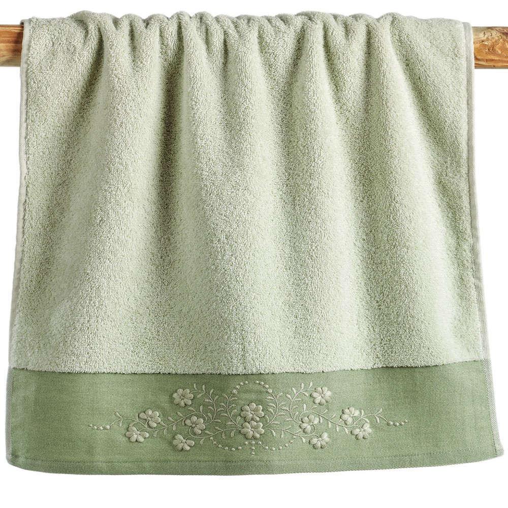 Πετσέτες Σετ Morena 10 Olive Kentia Σετ Πετσέτες
