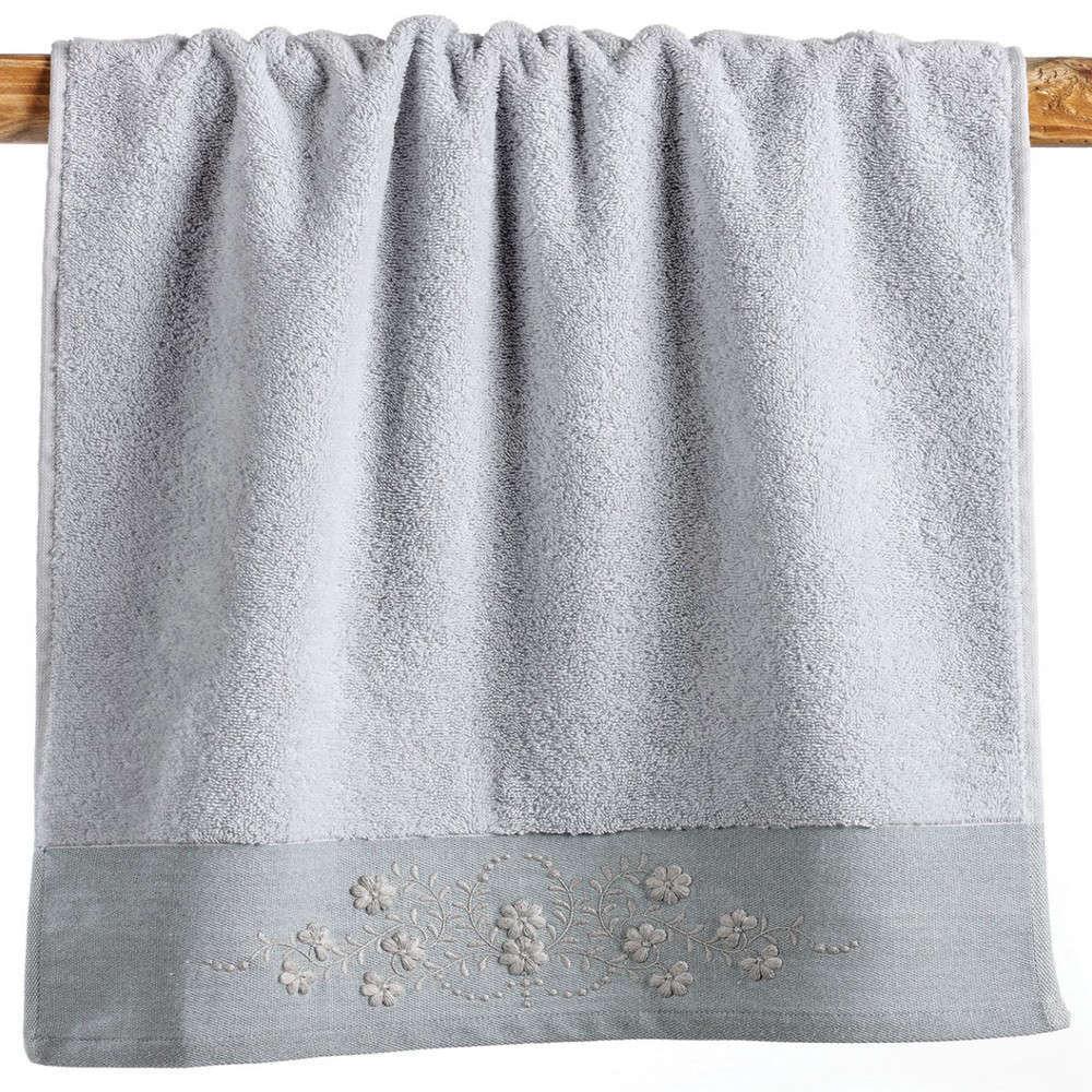 Πετσέτες Σετ Morena 22 Grey Kentia Σετ Πετσέτες