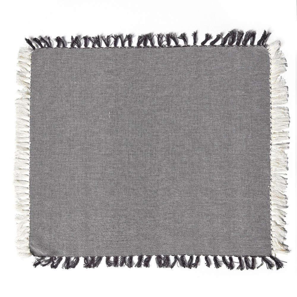 Πετσέτες Φαγητού Σετ 4τμχ. Beluga 22 Grey Kentia 50x50cm