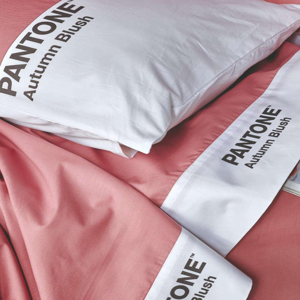 Σεντόνι Σετ 4Τμχ Pantone 08 Autumn Blush Kentia King Size 270x275cm