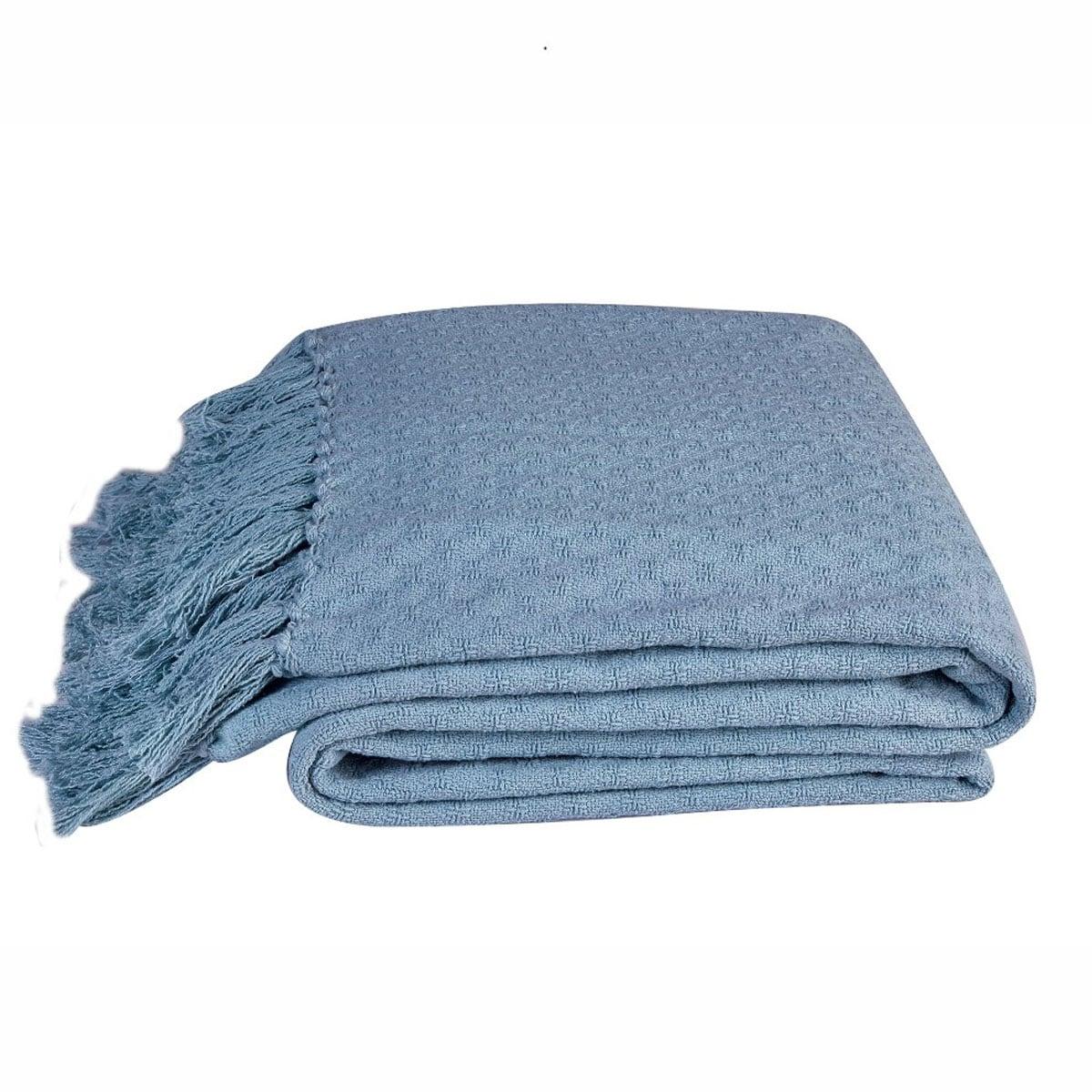 Κουβέρτα Βρεφική Priya 19 Blue Kentia Κούνιας 110x140cm