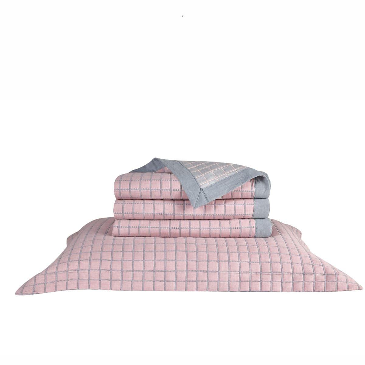 Μαξιλαροθήκη Διακοσμητική Kiana 14 Pink Kentia 40Χ60 100% Βαμβάκι
