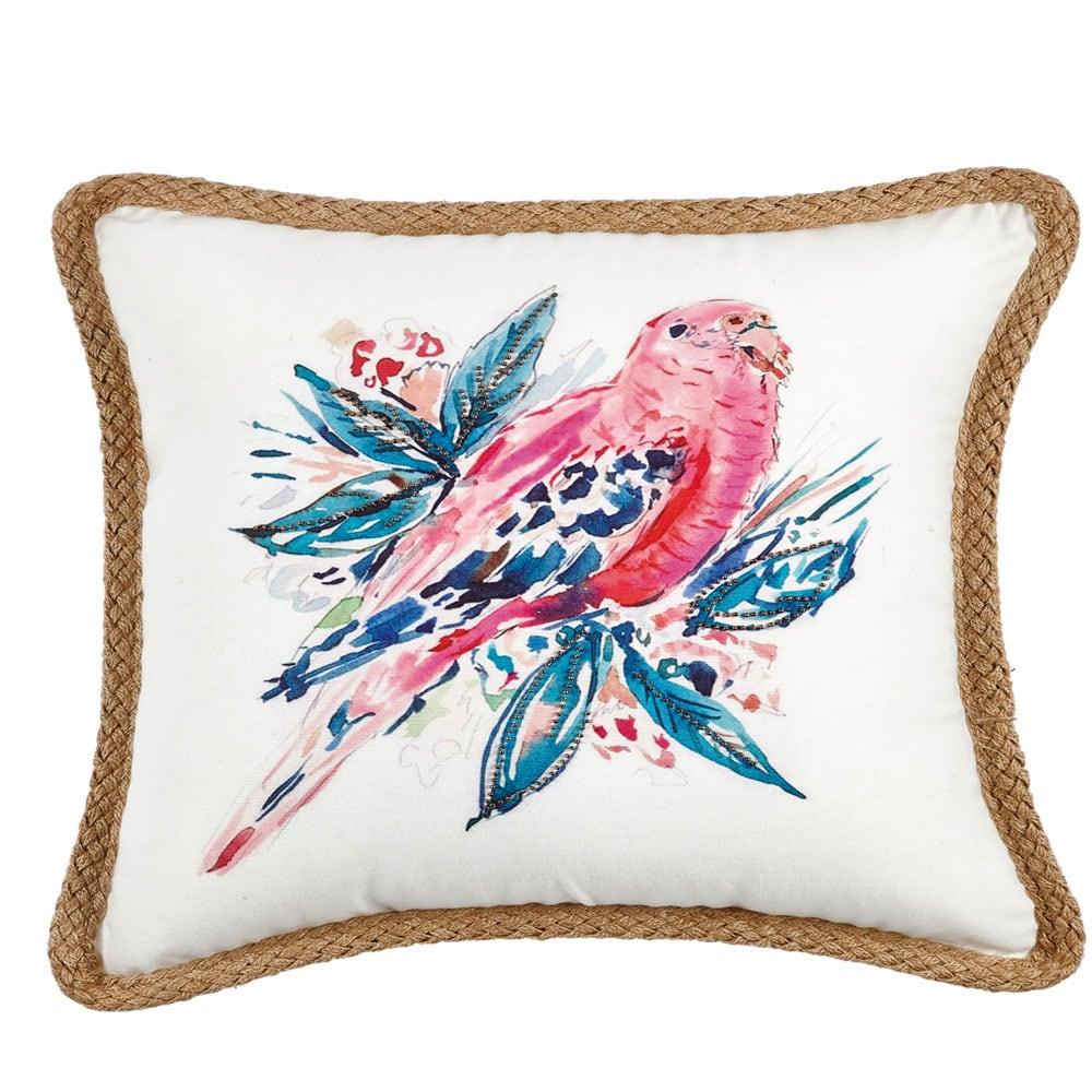 Μαξιλαροθήκη Διακοσμητική Casa 206 Pink-Brown Kentia 45X45 100% Polyester