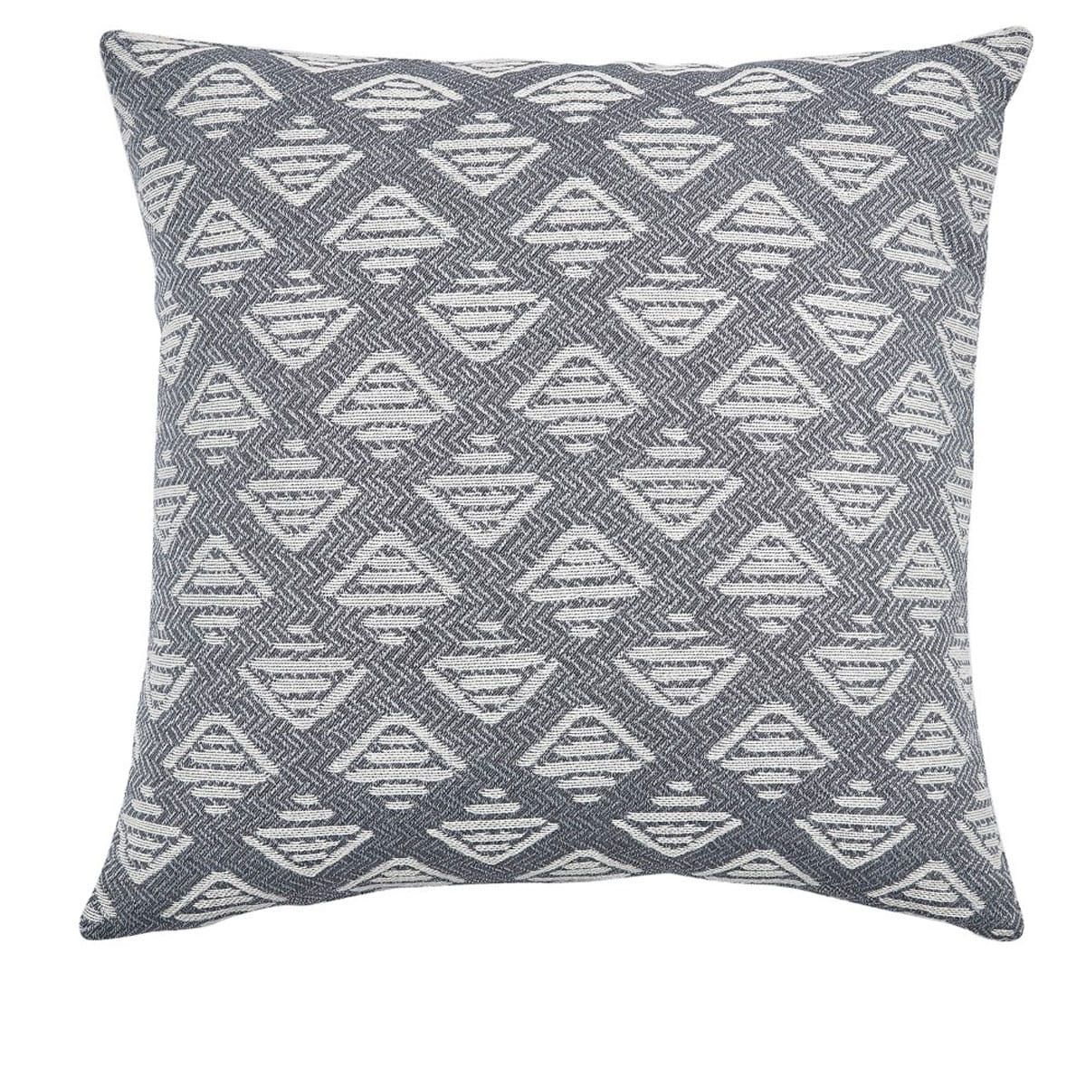 Μαξιλαροθήκη Διακοσμητική Top 22 Grey Kentia 50X50 Βαμβάκι-Polyester