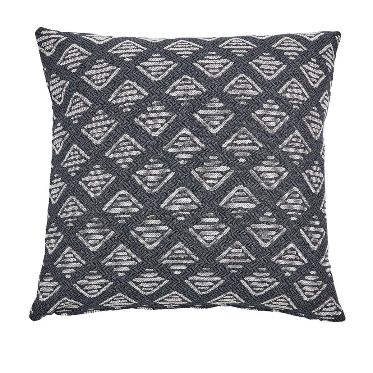 Μαξιλαροθήκη Διακοσμητική Top 30 Anthracite Kentia 50X50 Βαμβάκι-Polyester