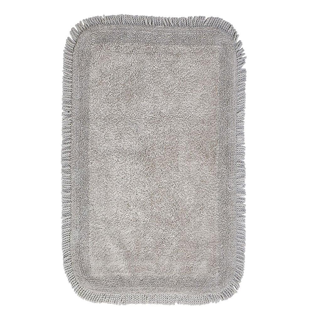 Πατάκι Μπάνιου Millennium 24 Διπλής Όψης Grey Kentia Small 50x60cm
