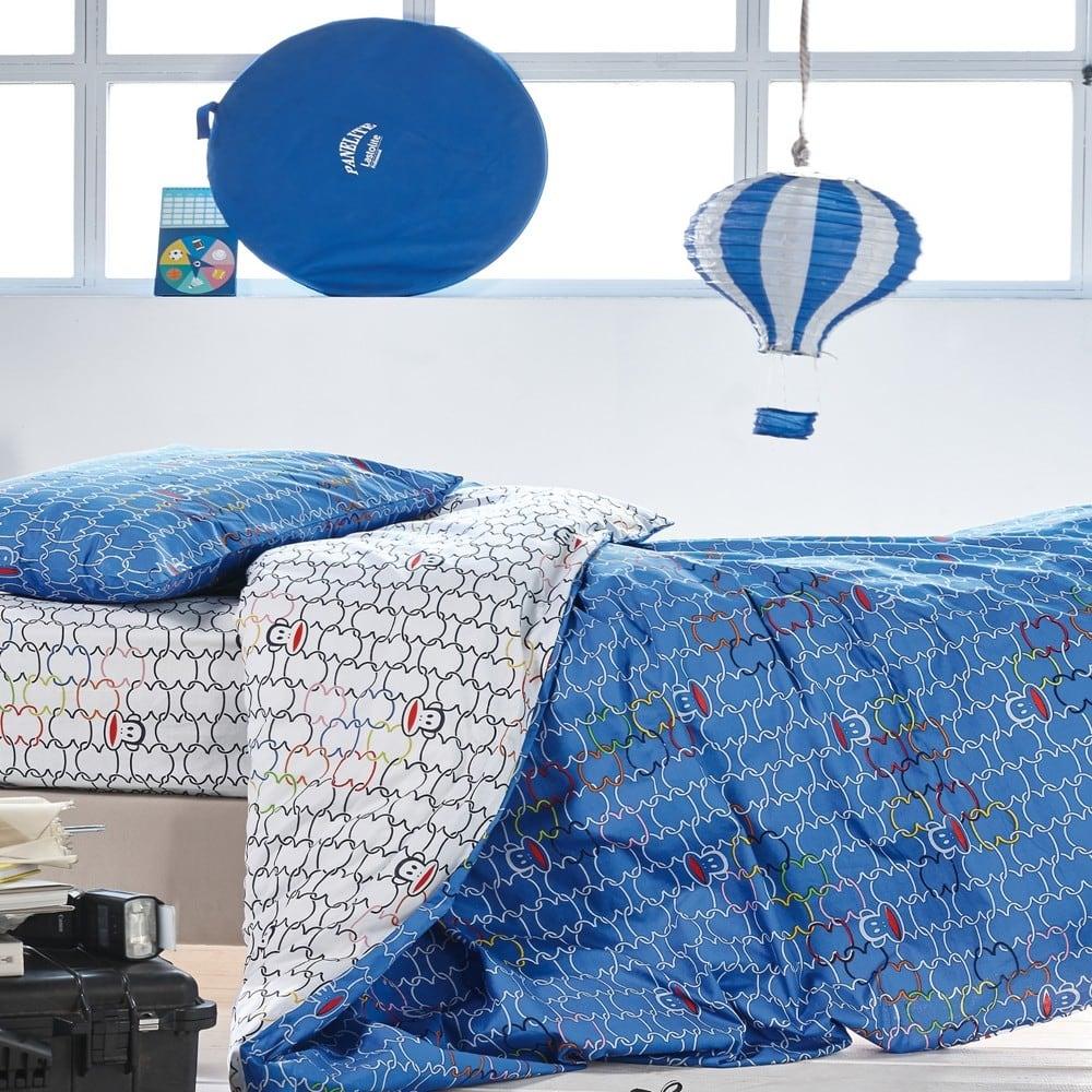 Σεντόνια Παιδικά Σετ 3Τμχ. Paul Frank 23 Blue Kentia Ημίδιπλο 190x270cm