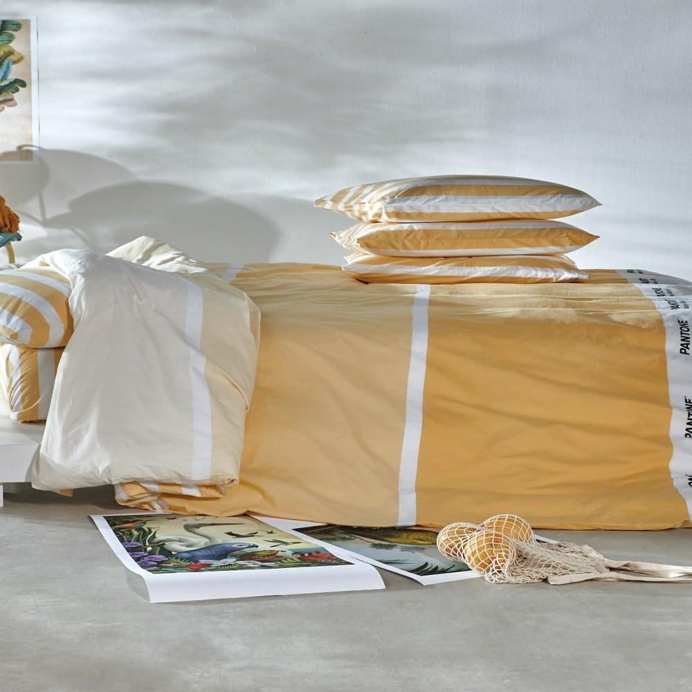 Κουβερτόριο Pantone 0625 Ochra Kentia Υπέρδιπλo 220x260cm