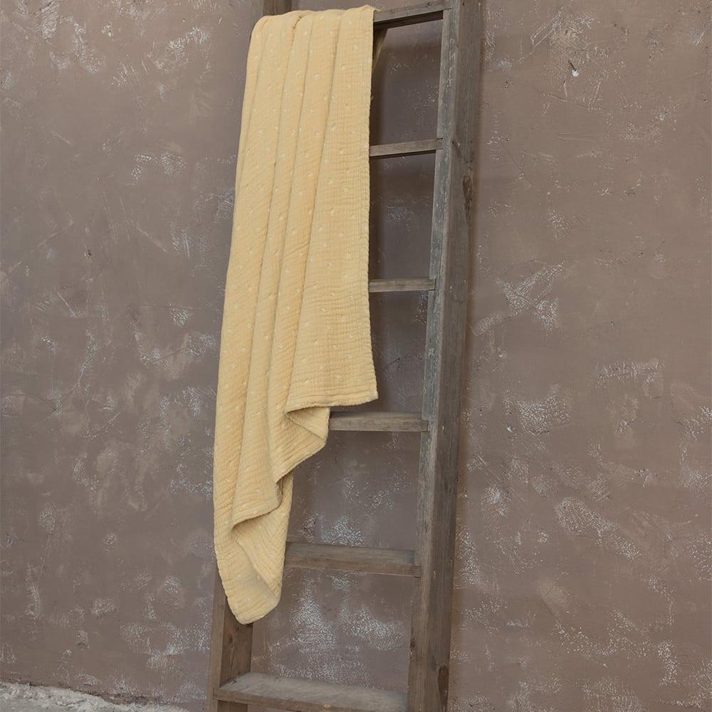 Διακοσμητικό Ριχτάρι Καναπέ Balmy Mustard Beige Nima Πολυθρόνα